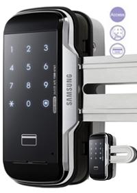 Khóa cửa kính Samsung G510