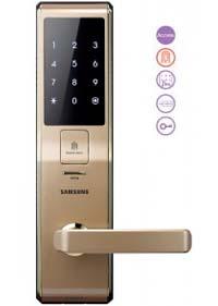Khóa cửa vân tay SamSung SHS-H705FBG/EN(GOLD)